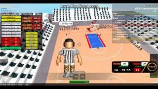 ABA game week 6 Clippers vs Thunder 1st part (Roblox)