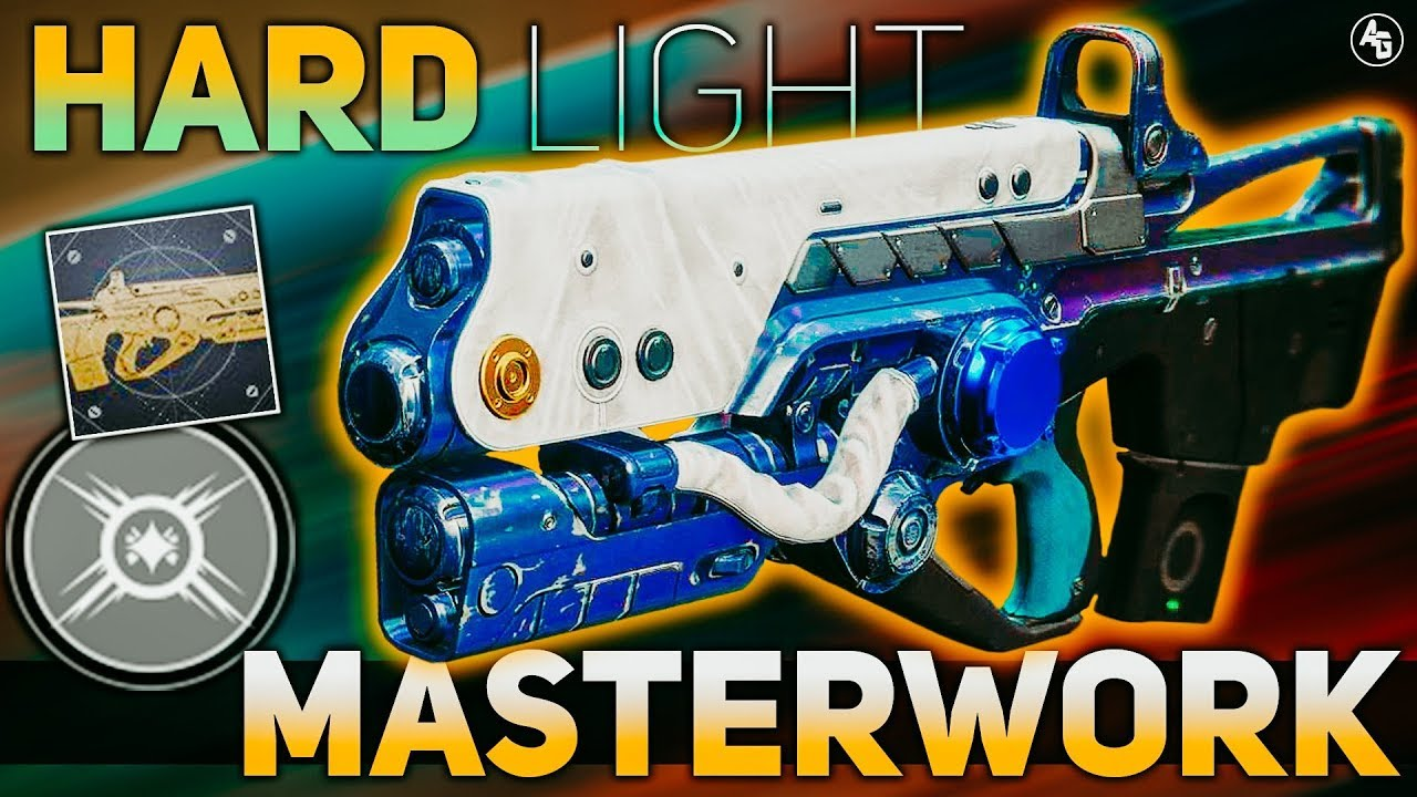 Hard Light Masterwork (Exotic Catalyst Review)   Destiny 2 ARC WEEK