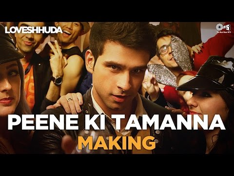Peene Ki Tamanna Song Making - Loveshhuda Behind the Scene | Girish, Navneet | Vishal, Parichay