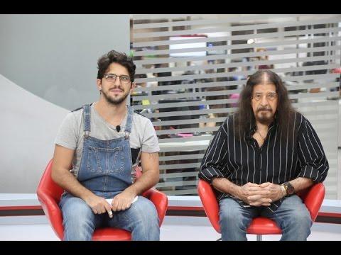 José Pimentel, intérprete de Jesus Cristo, no Ponto de Entrevista - 12/04/2017