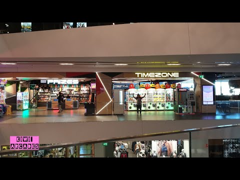 Timezone Central Park Sydney, Australia- BIGGEST arcade we have ever visted