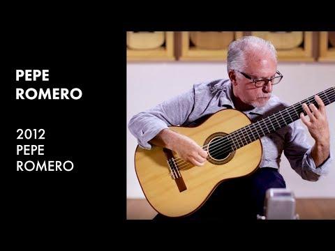 'Tonadilla' by Angel Barrios - Pepe Romero plays 2012 Pepe Romero