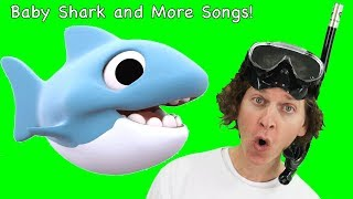 Baby Shark Song, Dinosaur Stomp and More Fun Songs from Dream English Kids