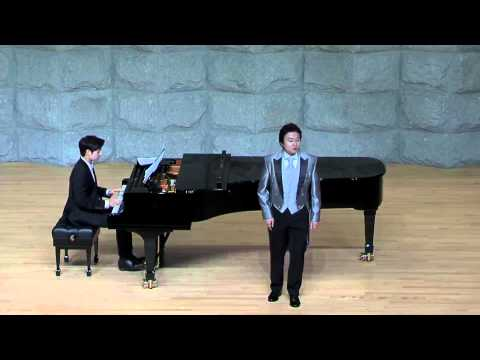 Seven Sonnets of Michelangelo op.22/ Mingue Cho