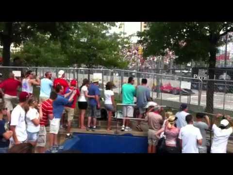 Wow - near miss in Baltimore grand prix