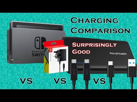 Charging Comparison - Best Options For Charging Nintendo Swi