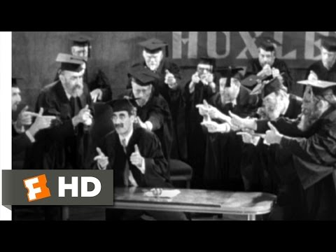 Horse Feathers (1/9) Movie CLIP - I'm Against It (1932) HD