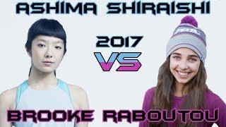 Ashima Shiraishi VS Brooke Raboutou - Climbing Comparison 2017