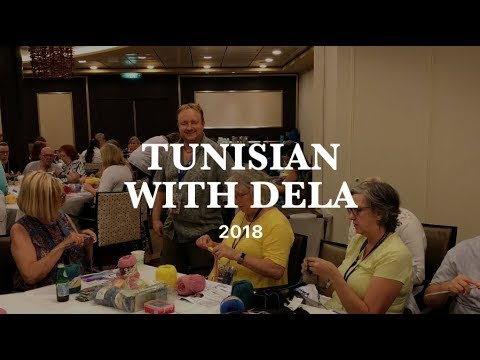 Crochet Cruises: Learning Tunisian with Dela Wilkins