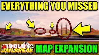 Jailbreak MAP EXPANSION UPDATE! (BIGGER MAP) | EVERYTHING YOU NEED TO KNOW | Roblox Jailbreak Update