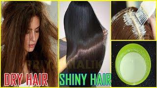 How To Get Shiny Hair ~ Silky Hair, Glossy Hair,Smooth Hair~Hair Mask for Shiny Hair | Priya Malik