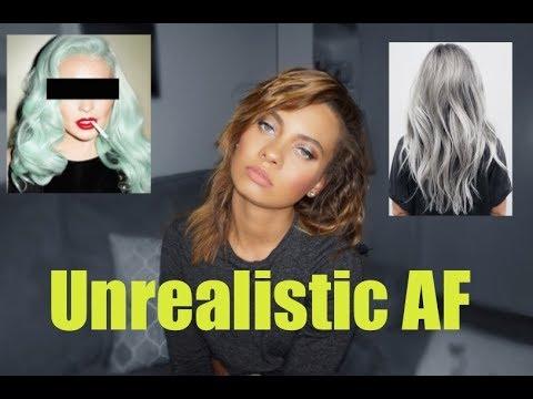 UNREALISTIC HAIR GOALS... LET'S TALK   Brittney Gray