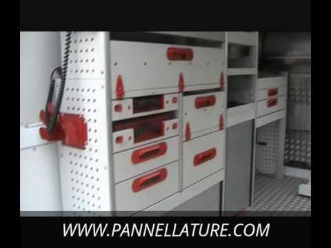 Scaffalature per furgoni e officine mobili officina for Mobili officina