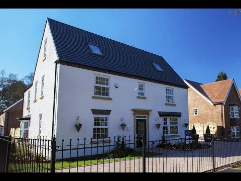 David Wilson Homes - The Berrington @ Woodthorne, Wolverhampton  by Showhomesonline