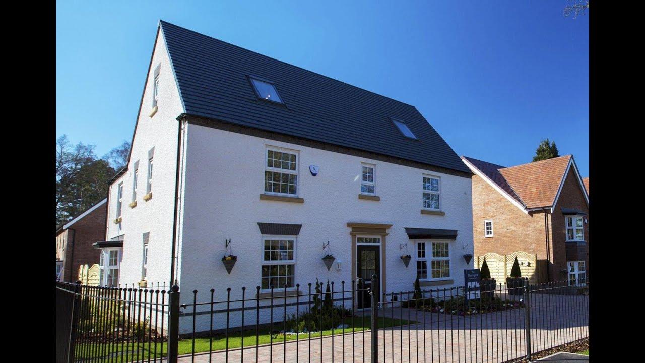 David Wilson Homes The Berrington Woodthorne Wolverhampton By Showhomesonline Youtube