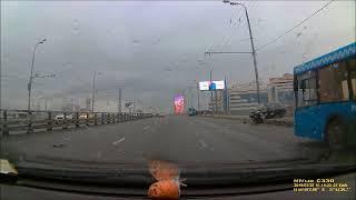 Смотреть видео ДТП, Москва, Черкизовский мост, 28 02 2019 онлайн