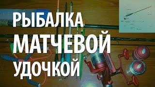 рыбалка матчевой удочкой видео
