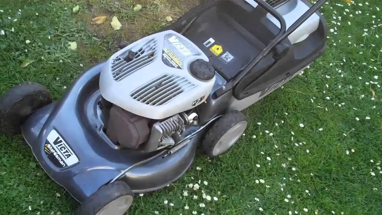 victa  stroke mulcher lawn mower youtube