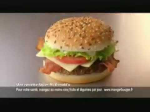 PUB AMÉRICAN STYLE de McDonald's
