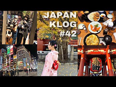 【KLOG#42】暴走东京⛩|日本牛郎|浅草寺和服👘|涉谷最可怕的十字路口🚦|109辣妹👩🏻🎤|歌舞伎町夜店🍻|