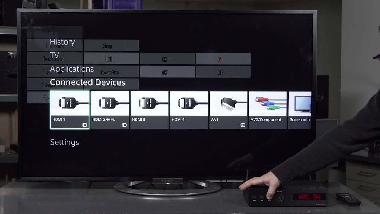 Connecting Tv Via Hdmi Or Optical Cable To Montana Sound