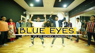 Blue Eyes || Hip Hop Dance || Yo Yo Honey Singh || Choreography By Rishabh Pokhriyal