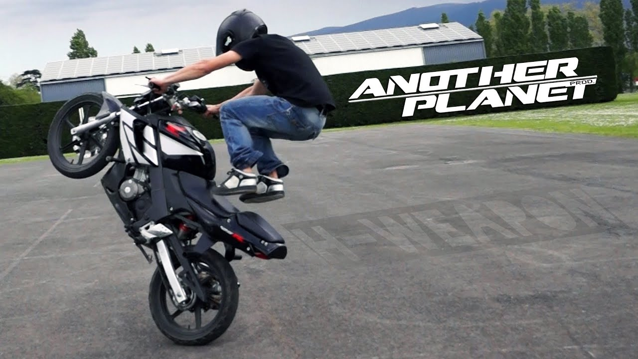 CBR 125 Stunt 👉 H-weapon 🐵 Train Hard 💀 Another Planet Prod ...