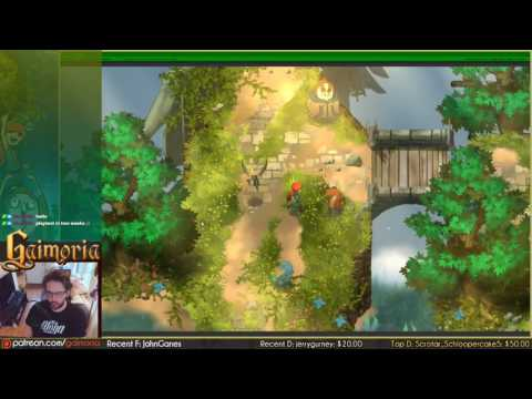 Gaimoria dev Ep086: Charge dash attack Aniah animation