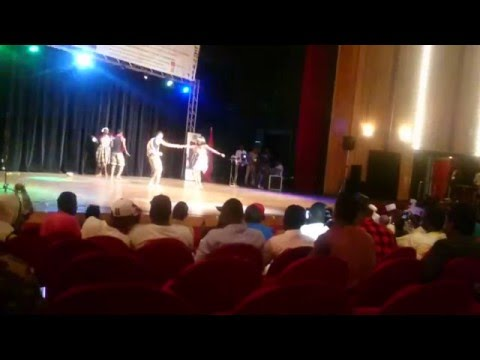 Prestation Des Ivoiriens à La Journee Culturelle CESAM Mohammedia 2016- DANSE TRADITIONNELLE