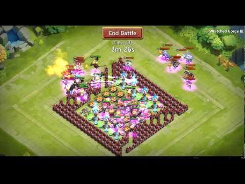 Castle Clash - WG 3 In Almost 1 Minute