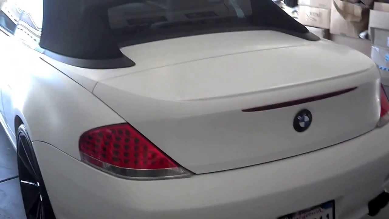 Custom 2005 BMW 645 Convertible