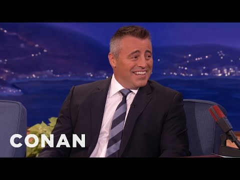 Matt LeBlanc Teaches Conan Massachusetts Slang