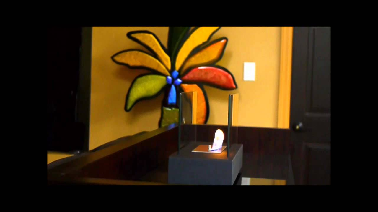 nu flame incendio bio fireplace video youtube