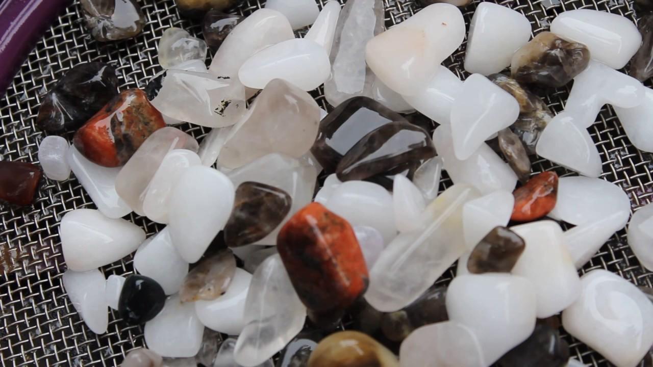 Specimen Premium Rock And Gem Tumble Rough Mix For Rock Tumbler Non-Ironing
