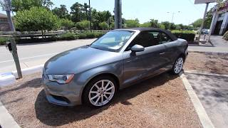 2015 Audi A3 Cab Premium - In Depth For Sale Review | Low Country Preowned