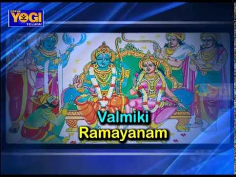 Valmiki Ramayanam Episode – 101 By Sri Aravinda Rao | Gyana Yogi