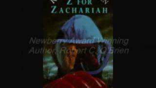 Z for Zachariah Book Trailor