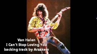 (backing track) I cant Stop Loving You -Van Halen
