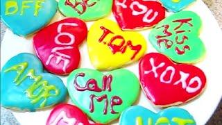 Galletas De Corazon Con Mensajes| CatLike Thumbnail
