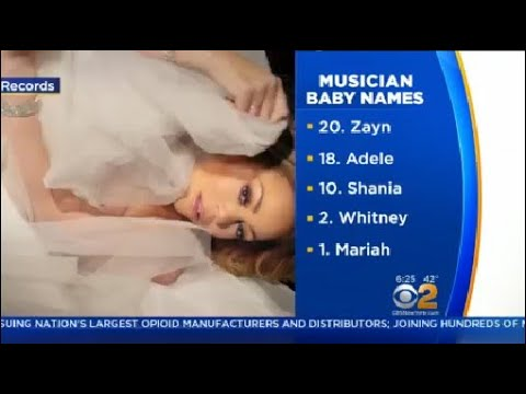 2 Talkers: Top Musicians Who Inspired Baby Names