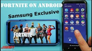 Fortnite - Samsung Exclusive (Télécharger et GamePlay)