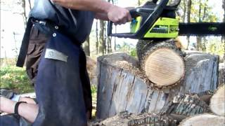 How to tune a chainsaw