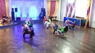 Бразильский зук (ZOUK dance). Шоу-номер. Танцы Чебоксары. Студия Капелия