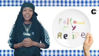 Kaash Paige Chefs Up Chicken Tenders &amp Fries  Follow My Recipe