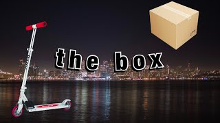 rock sand but it's actually the box