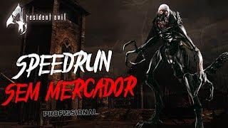 RESIDENT EVIL 4 - SPEEDRUN SEM MERCADOR - PRO (WR EM 2:09:47) PS4