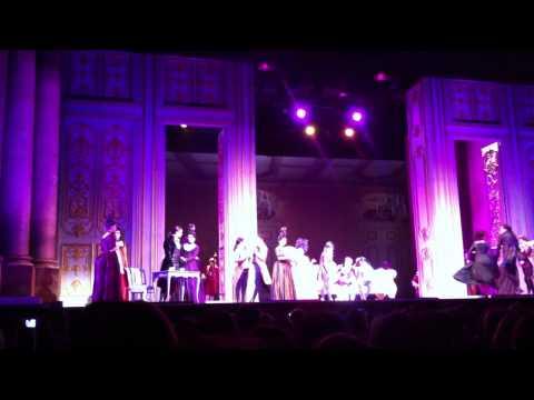 Mozart l'Opéra Rock-Victime de ma victoire-Genève 24 juin 2011