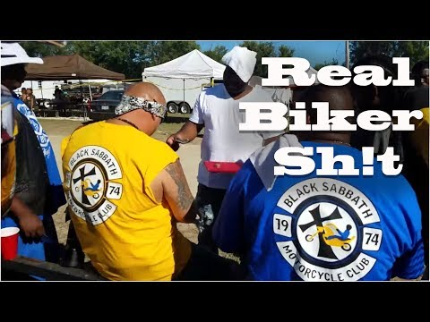 We are Doing Biker Sh*t at the Round Up!
