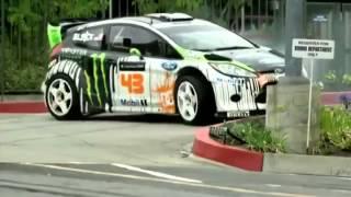 Как нужно водить машину. Ford Fiesta(Профи гонщик показывает всем, как нужно управлять машиной., 2013-12-02T13:17:34.000Z)