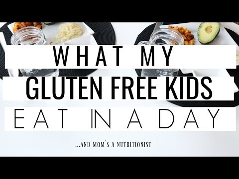 WHAT MY Gluten-free KIDS EAT IN A DAY